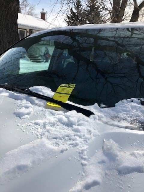 Postitive Parking TIckets