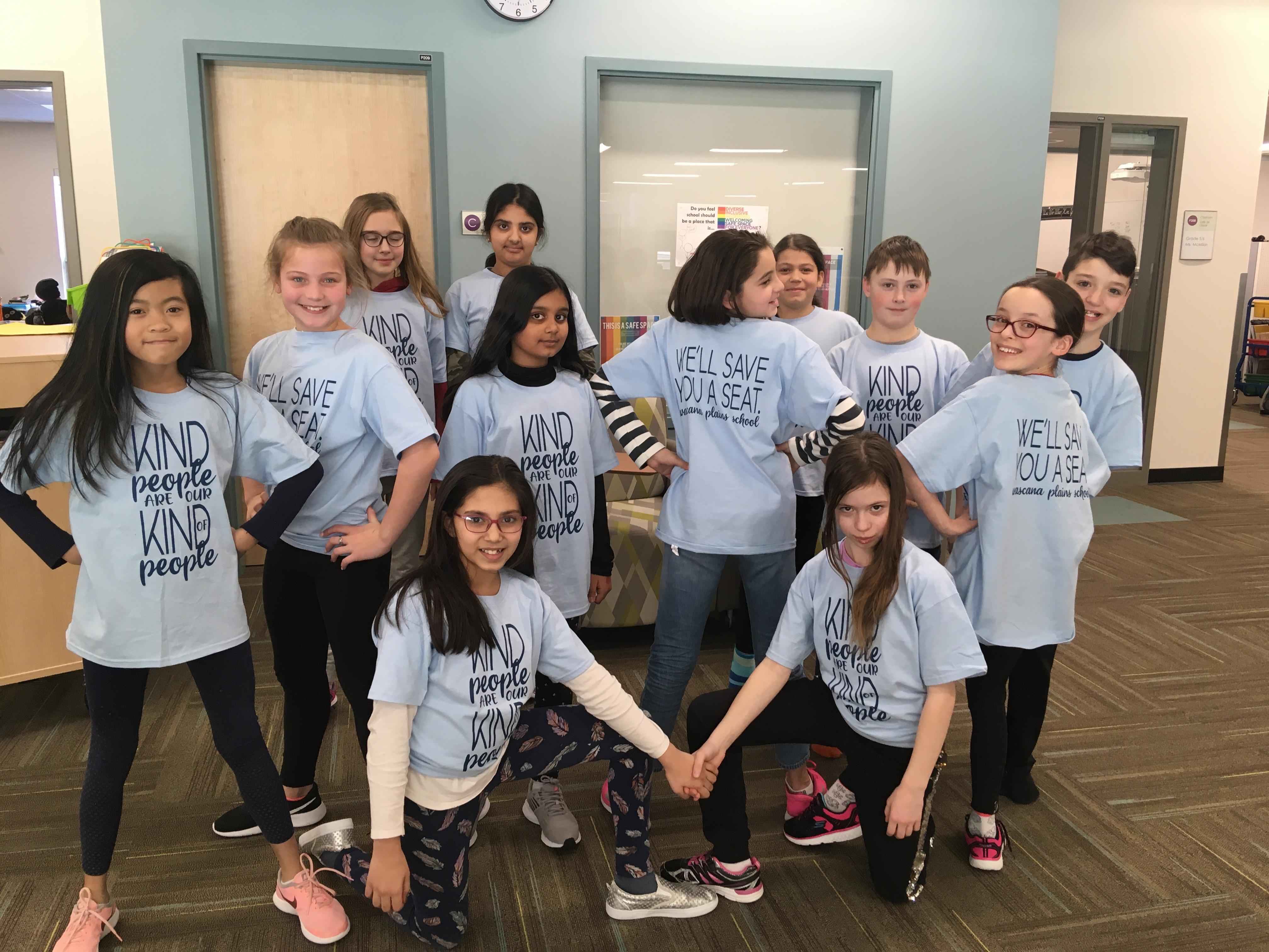 Ecole Wascana Plains School Kindness Crew