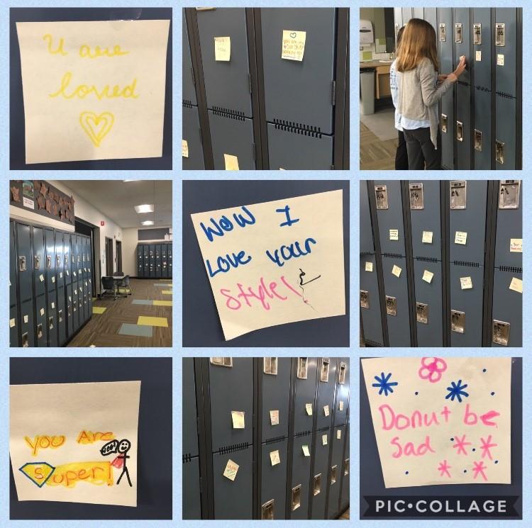 Ecole Wascana Plains School Locker activity